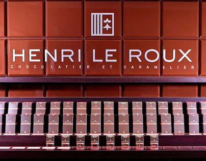 Interior Shots Henri Le Roux - Chocolatier Paris