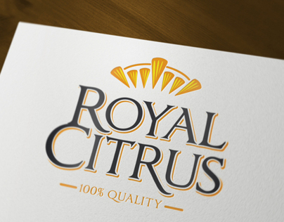 "Logo and Package design for ""Royal Citrus"""