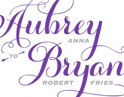 The Wedding of Bryan and Aubrey Fries
