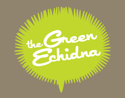 The Green Echidna Logo