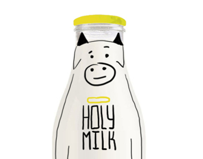 Holy milk - packaging milk