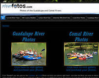 RiverFotos.com CMS site with Zenfolio Integration