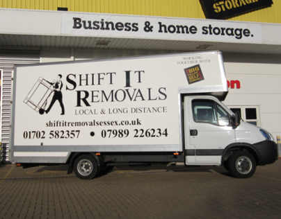 Shift It Removals - Rebranding and Web Design
