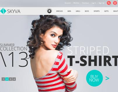 Skyva - ecommerce