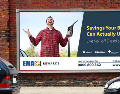 Membership Rewards Billboard for EMA