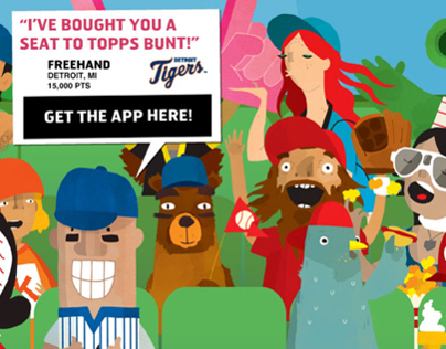 Topps BUNT - Marketing Landing Page