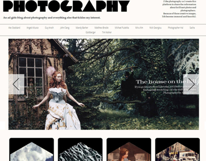 Photography Web with Database