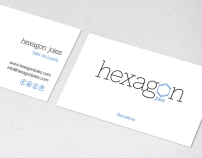 hexagon Joies (brand identity)