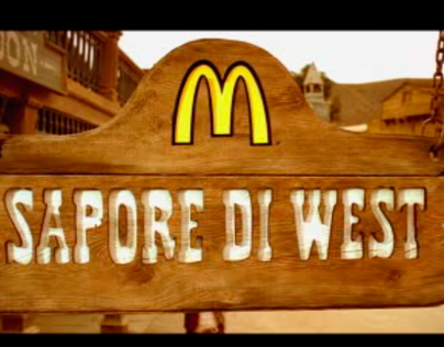 McDonalds - Sapore di West - TV campaign