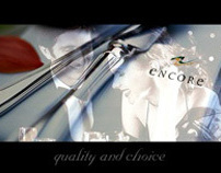 Encore Catering digital work