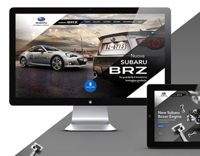 Subaru BRZ Website