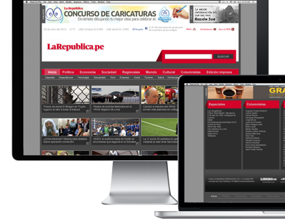 WEBSITE LA REPUBLICA.PE