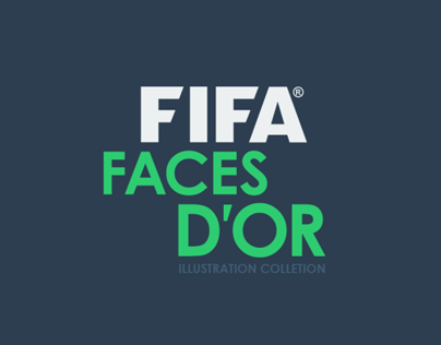 FACES DOR | Footballers Illustration Collection