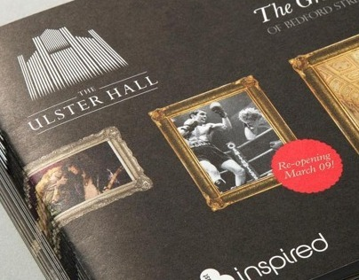 Ulster Hall Branding & Exhibition