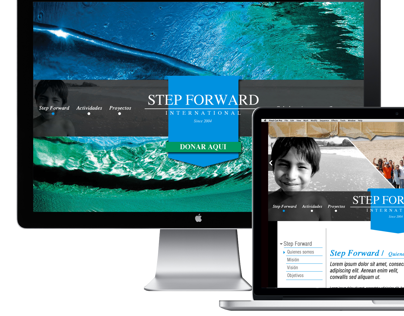 WEBSITE STEP FORWARD