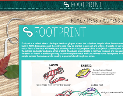 Footprint - Website Design