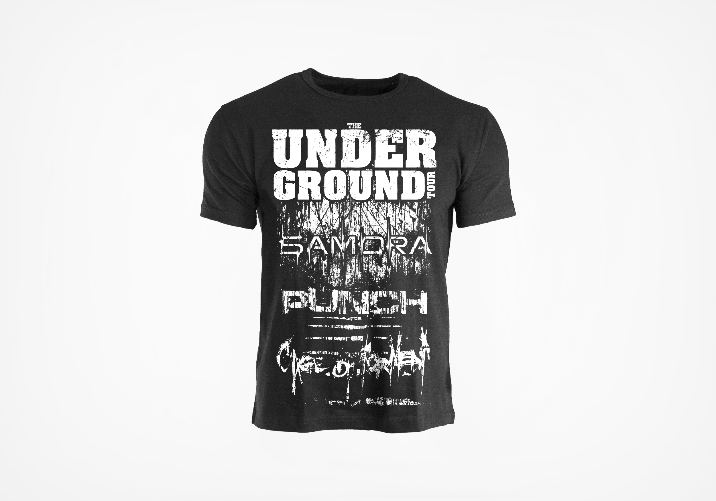 T-shirt // The Underground Tour