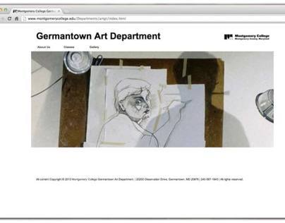 Montgomery College Art Department Web Site