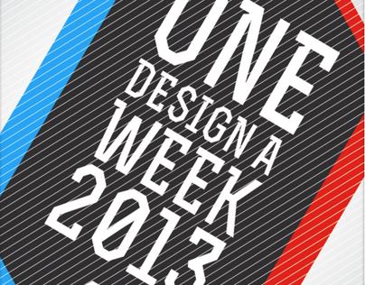 One Design a Week 2013