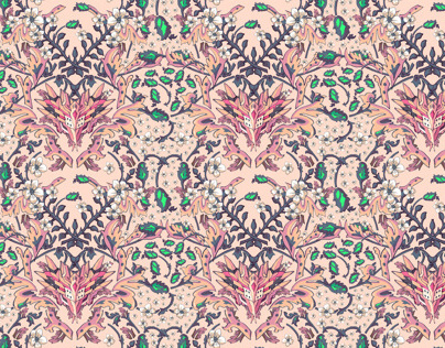 Wallpaper pattern design 13 Edouard Artus ©2012