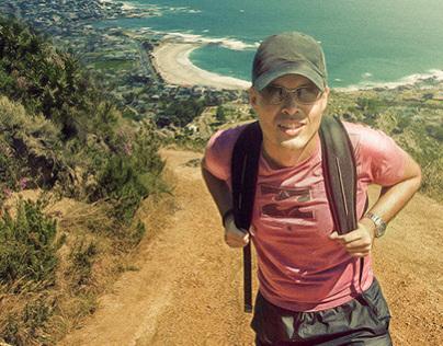 Hiking on Lions Head