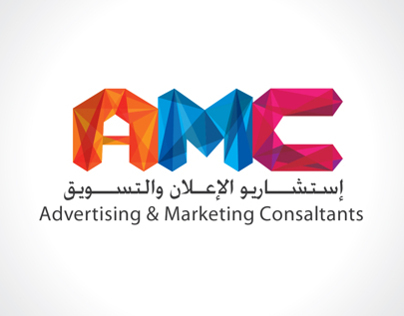A Logo for AMC ( advertising & marketing consaltants )