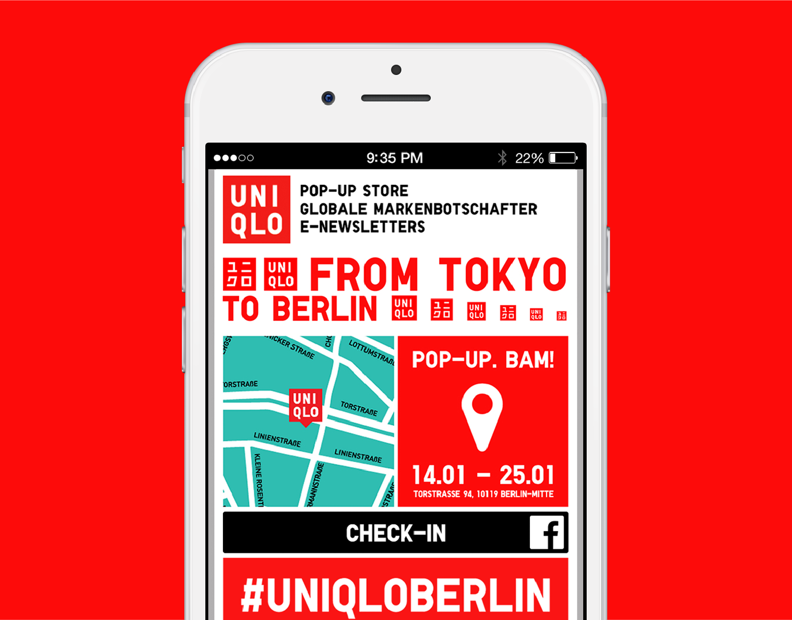 UNIQLO From Tokyo to Berlin