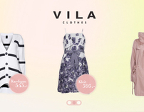 Vila spring campaign design for A&G