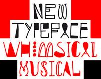 New Font: Whimsical Musical