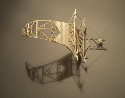 Architectural Balsa Models - 1