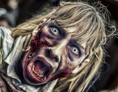 Zombie Walk - Paris 2012