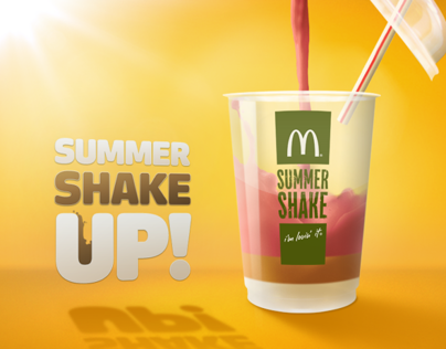 Cocio Summer Shake Up! from McDonalds