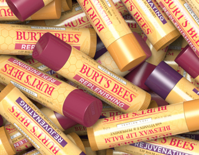 Burt's Bees Photorealistic 3D Display Rendering