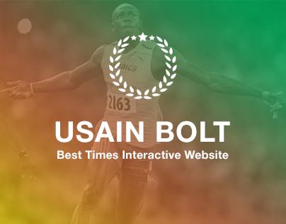 Usain Bolt - Best Times