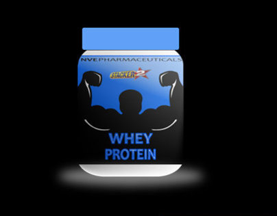 Whey Protein Packaging Design