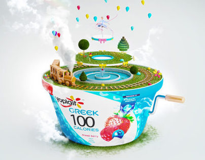 Yoplait Greek 100 Surprise