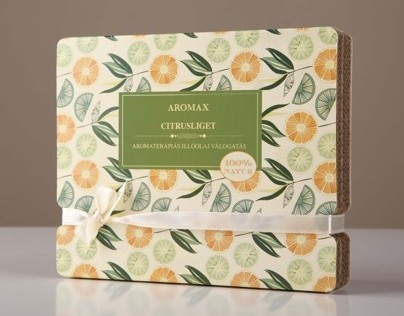 Aromax 2012 - gift packaging