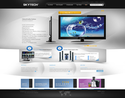 Skytech Elekronik A.Ş. Web Interface