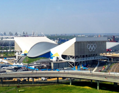 London 2012 Look of the Games – Aquatics Water Park