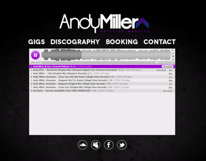 Andy Miller Website