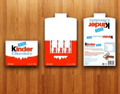 kinder chocolate redesign