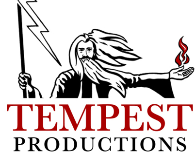 Brand for Tempest Productions video-radio-TV company