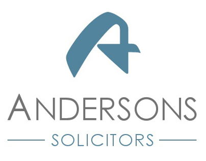 Brand identity for Andersons Solicitors LLP