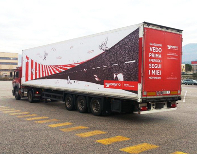 """TrasporTiAmo"" - Italian trucks road safety campaign"