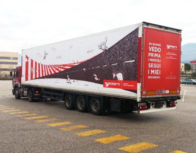 """""""TrasporTiAmo"""" -Italiantrucksroadsafetycampaign"""