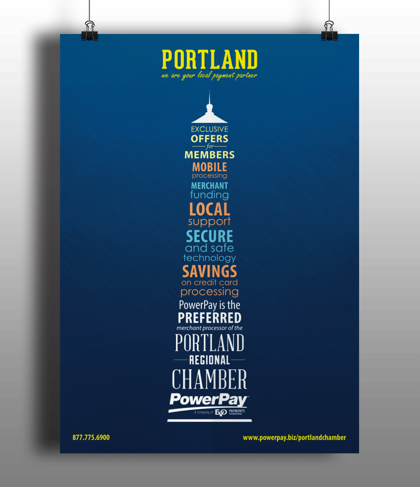PowerPay/Portland Regional Chamber Marketing Materials