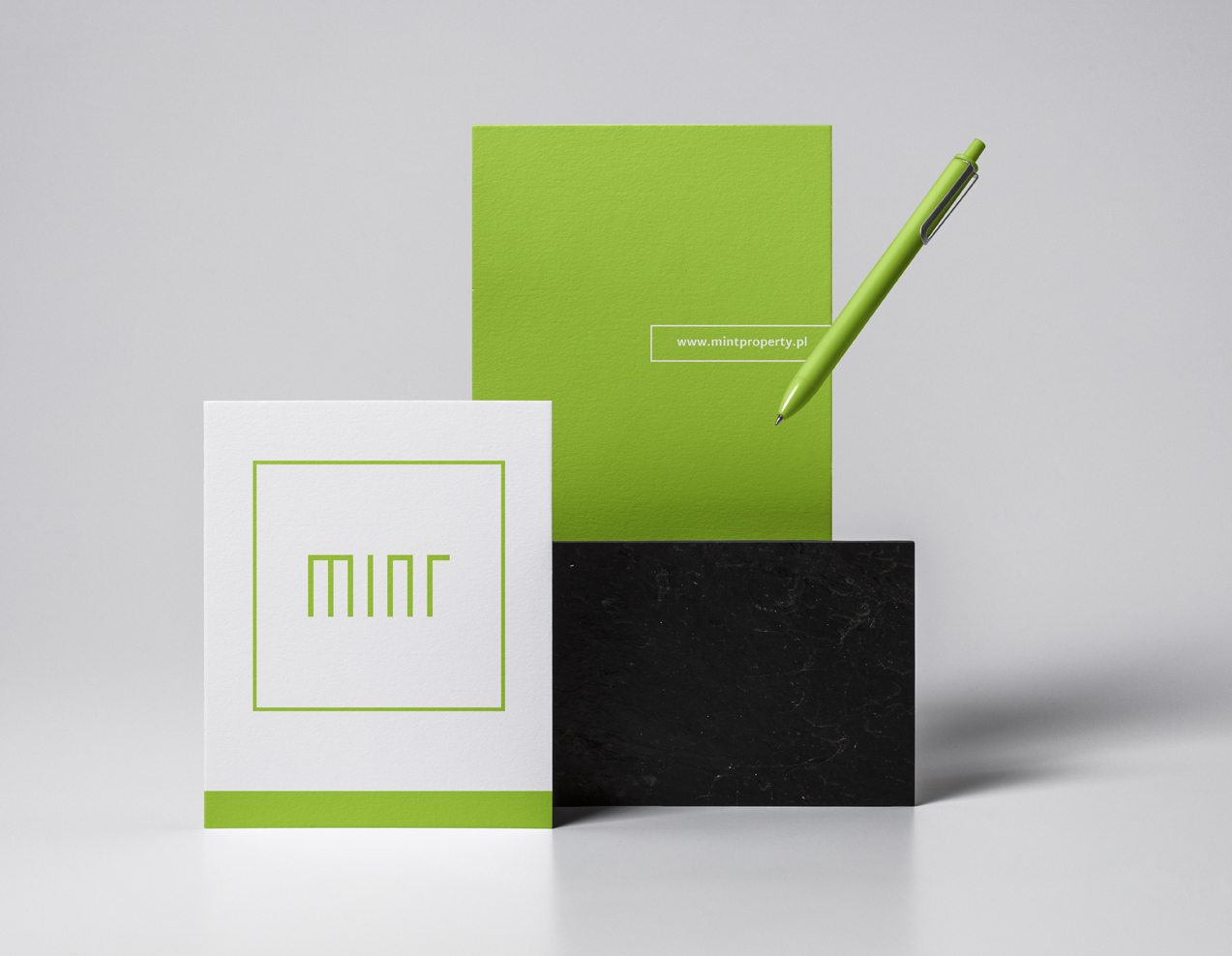 Brand identity for MINT Property