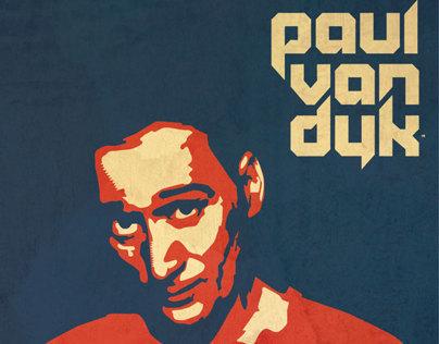 Paul Van Dyk Illustration