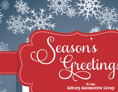 Asbury Automotive Group Holiday E-Card