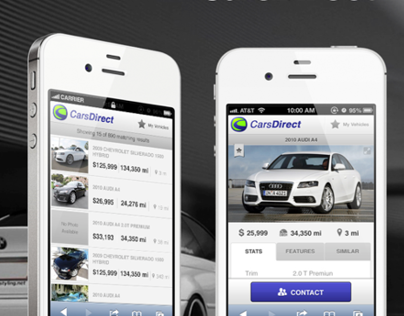 CarsDirect Mobile Site